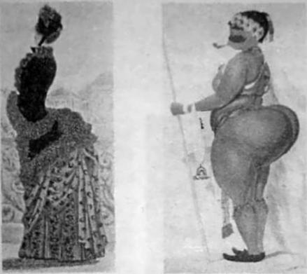 Африканские девушки с широкой талией фото